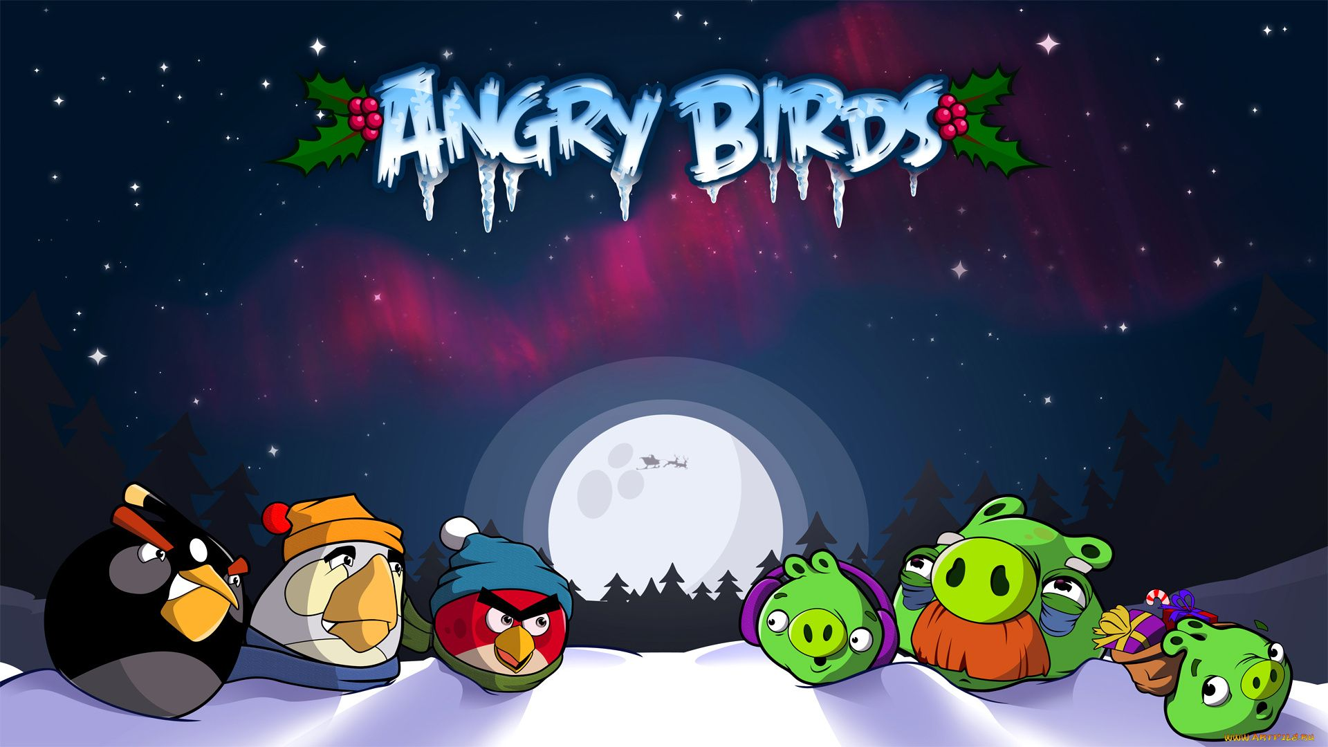 Angry Birds Seasons Pictures
