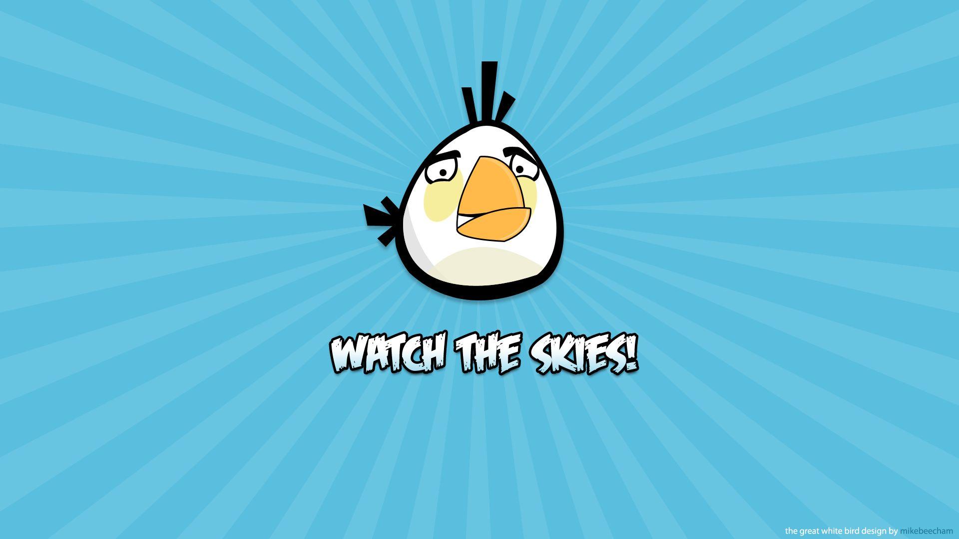Angry Birds White Bird