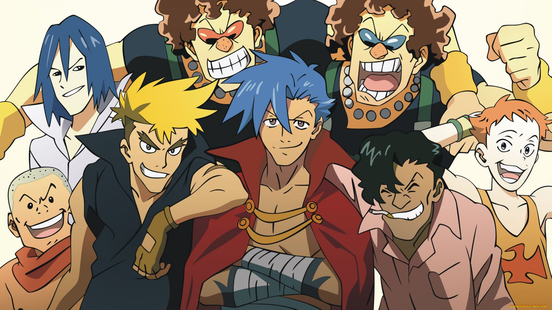 Anime Gurren Lagann Characters