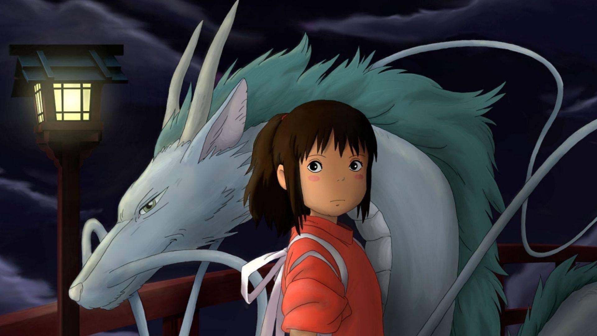 Anime Miyazaki Hayao Spirited Away