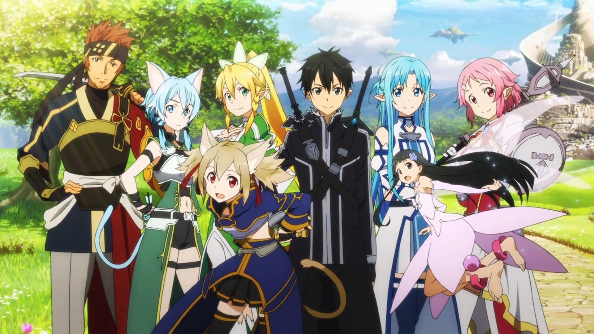 Anime Sao Characters