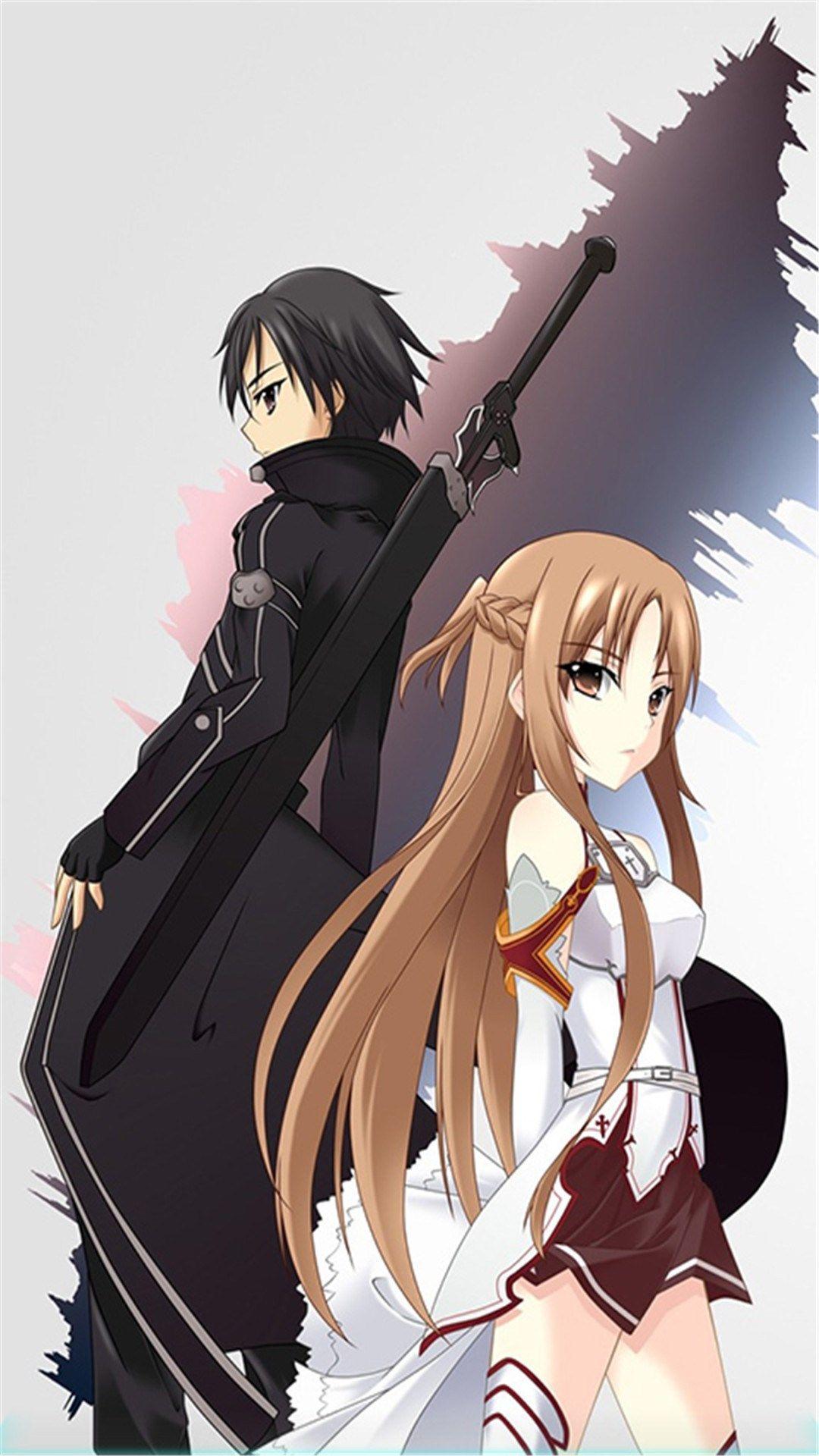 Anime Wallpapers Asuna And Kirito