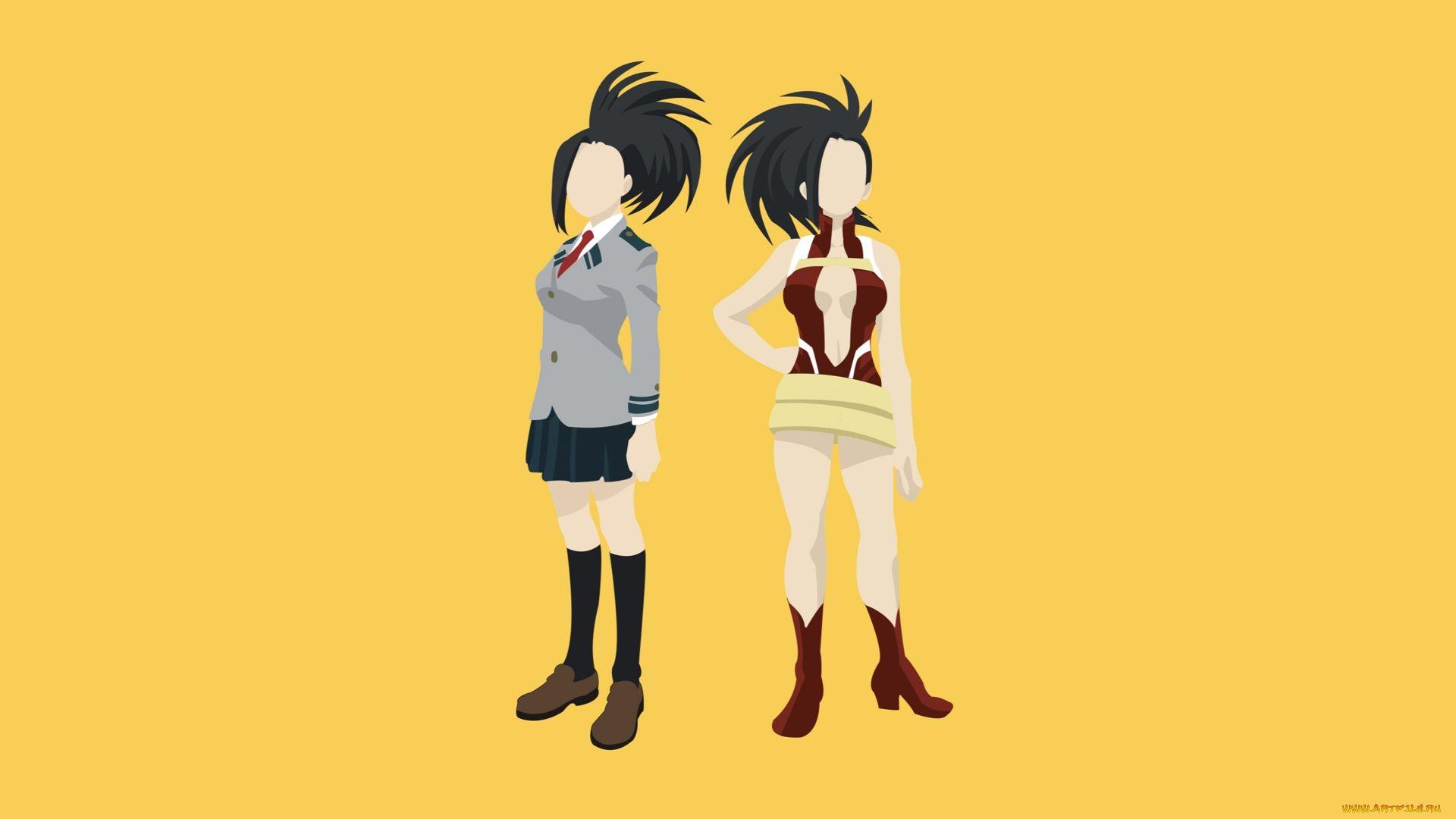 Anime Wallpapers Yaoyorozu