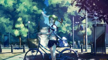 Anime Art Bike