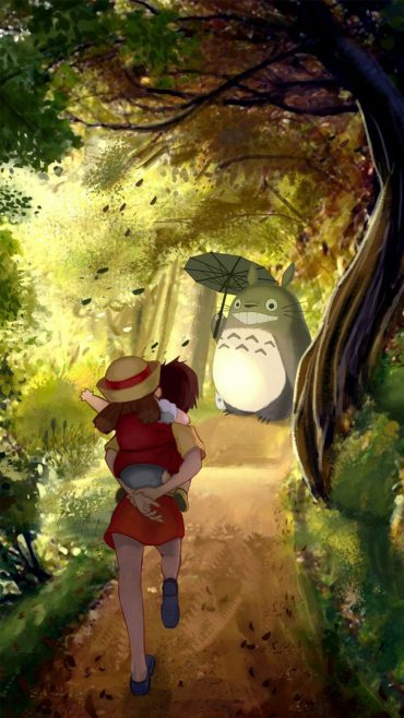 Anime Art Of My Neighbor Totoro