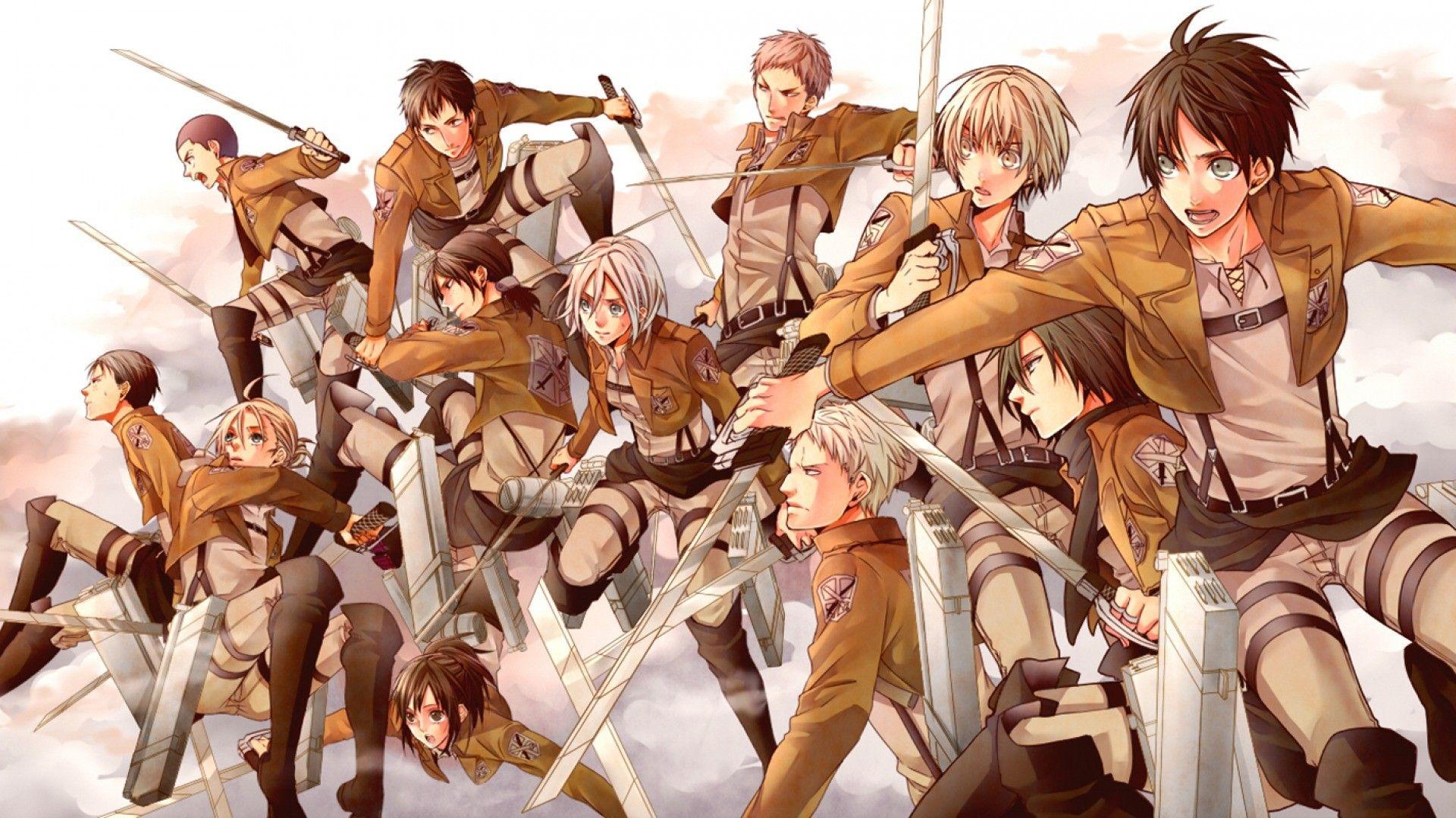 Anime Attack Of The Titans
