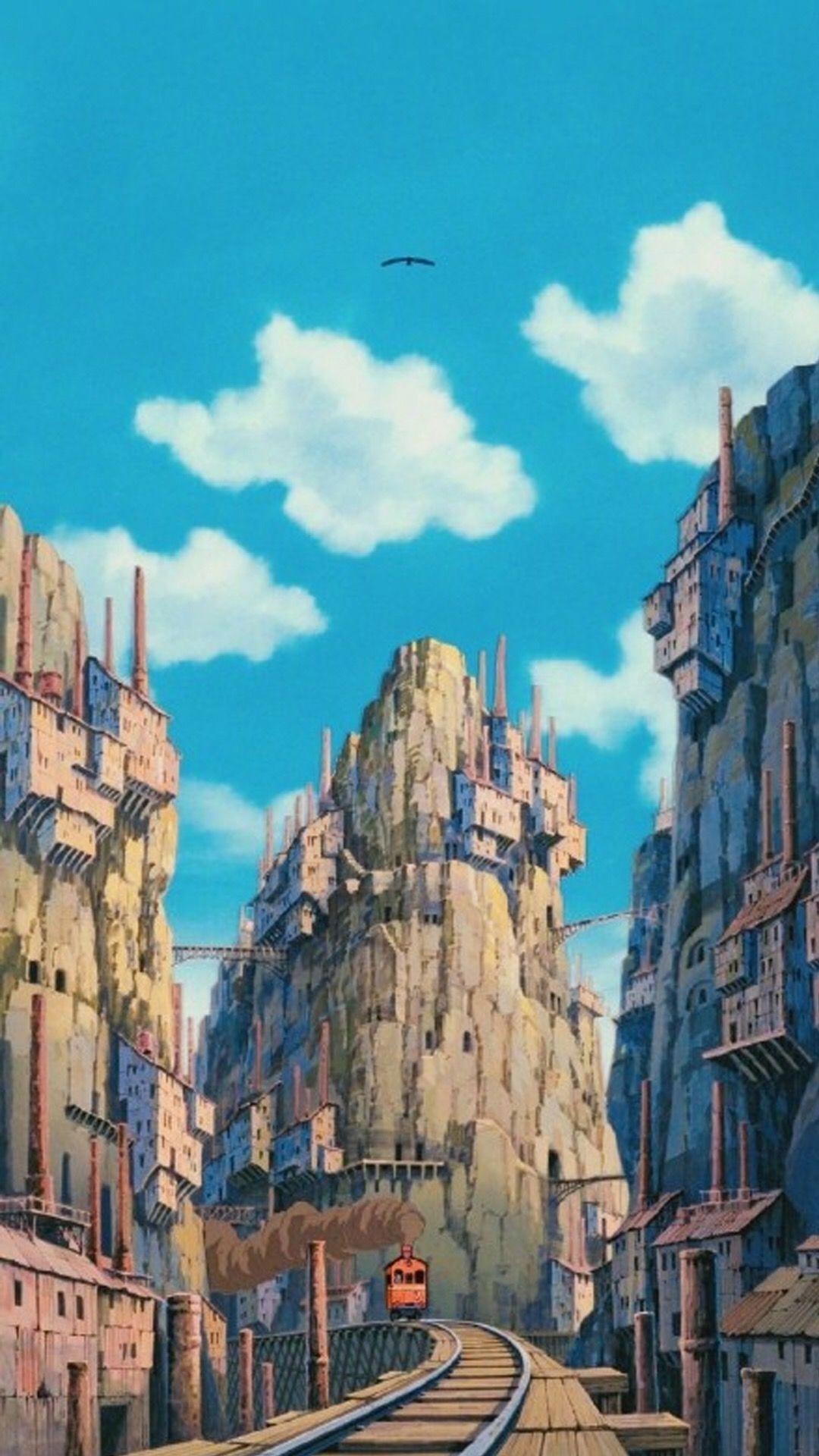 25 Hayao Miyazaki Mobile Wallpapers Wallpaperboat