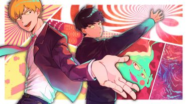 Anime Mob Psycho 100 Reigate And Shigeo