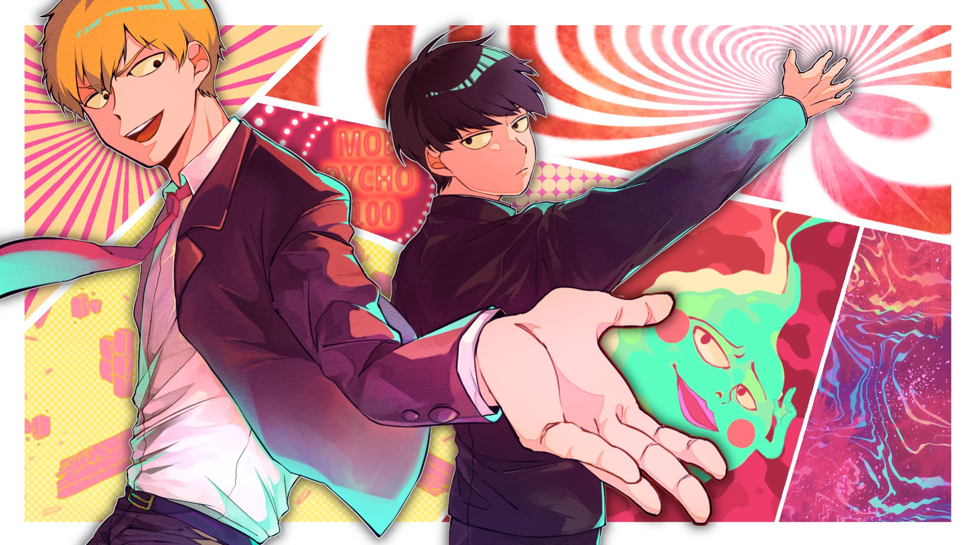 Mob Psycho 100 Wallpapers 24 Images Wallpaperboat
