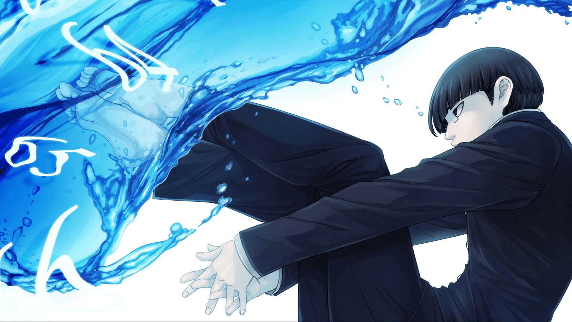 Anime Mob Psycho 100 Art