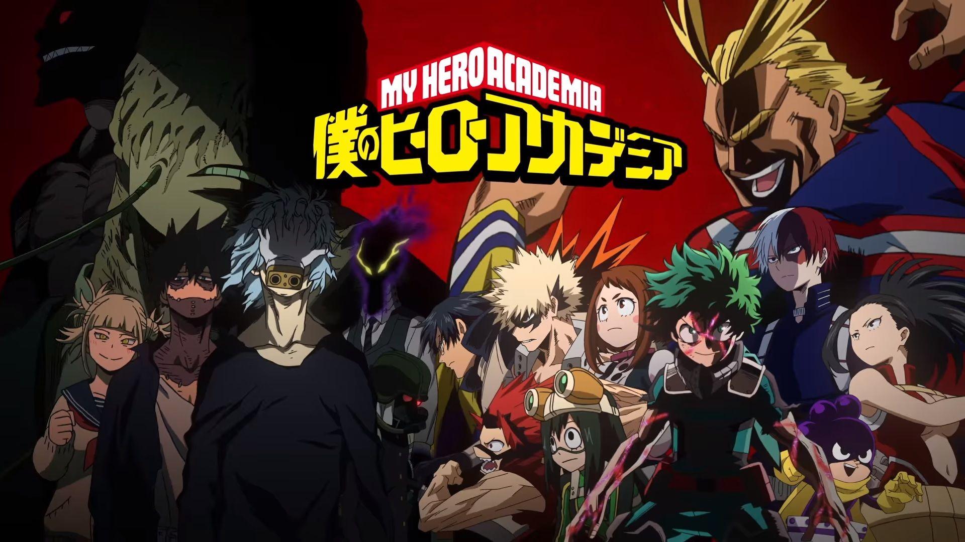 Anime Posters My Hero Academy