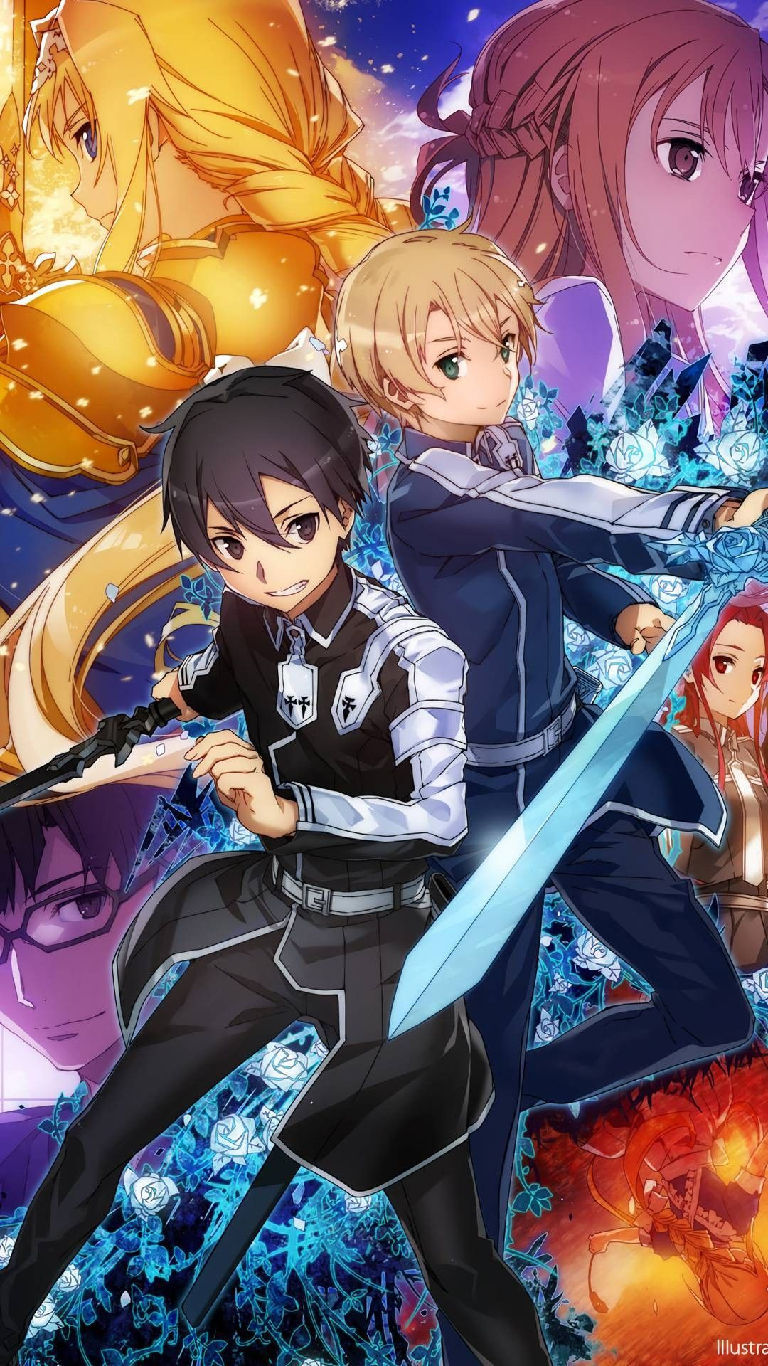17 Sword Art Online Alicization Iphone Wallpapers