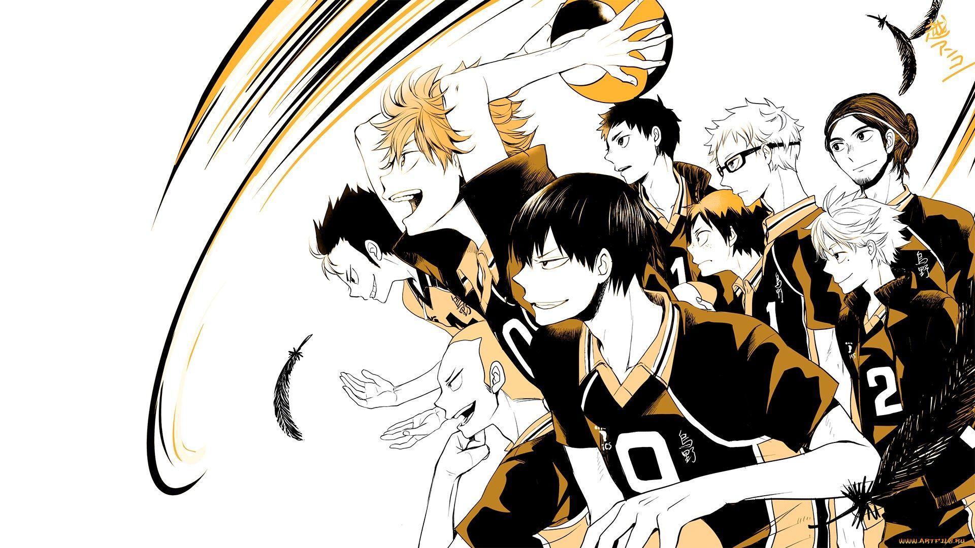 Anime Volleyball Haikyuu!! Wallpapers