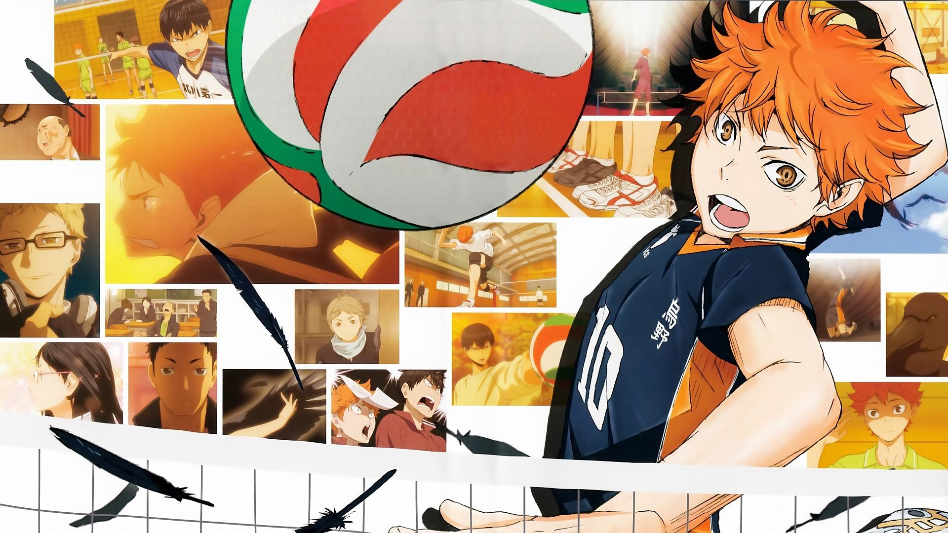 Anime Volleyball Haikyuu!! Forward
