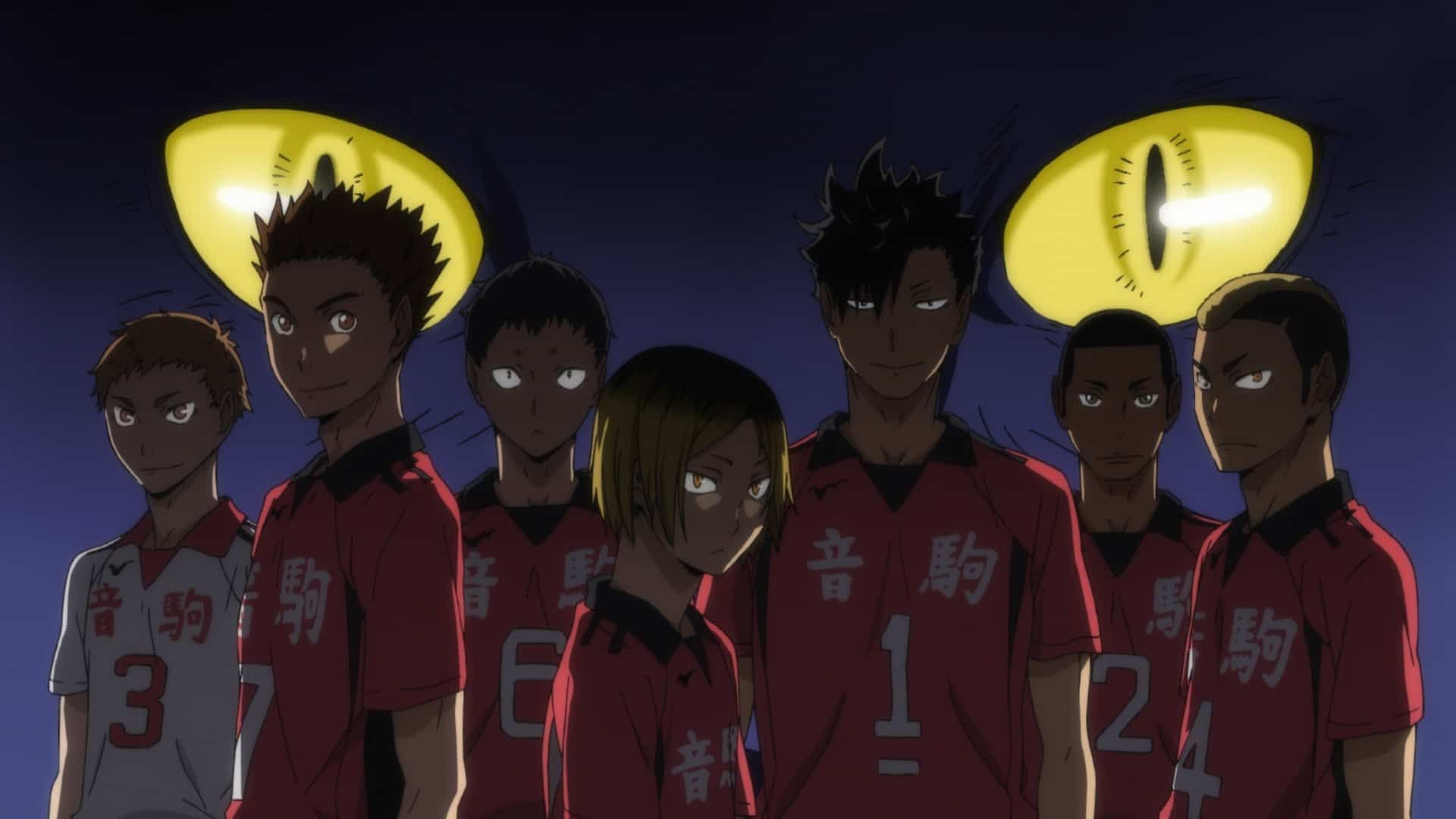 Anime Volleyball Haikyuu!! Nekoma