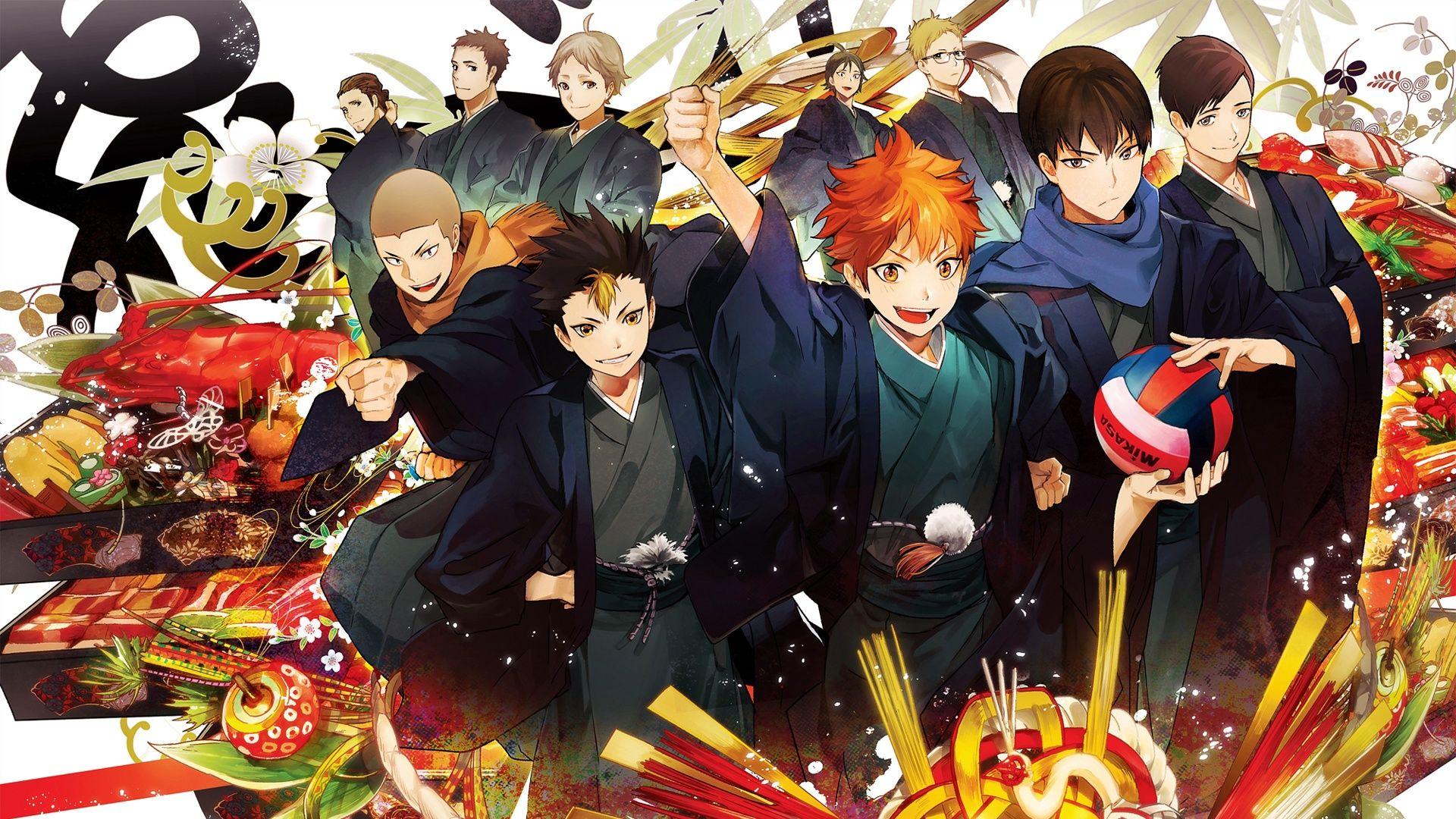 Anime Volleyball Haikyuu!! Poster