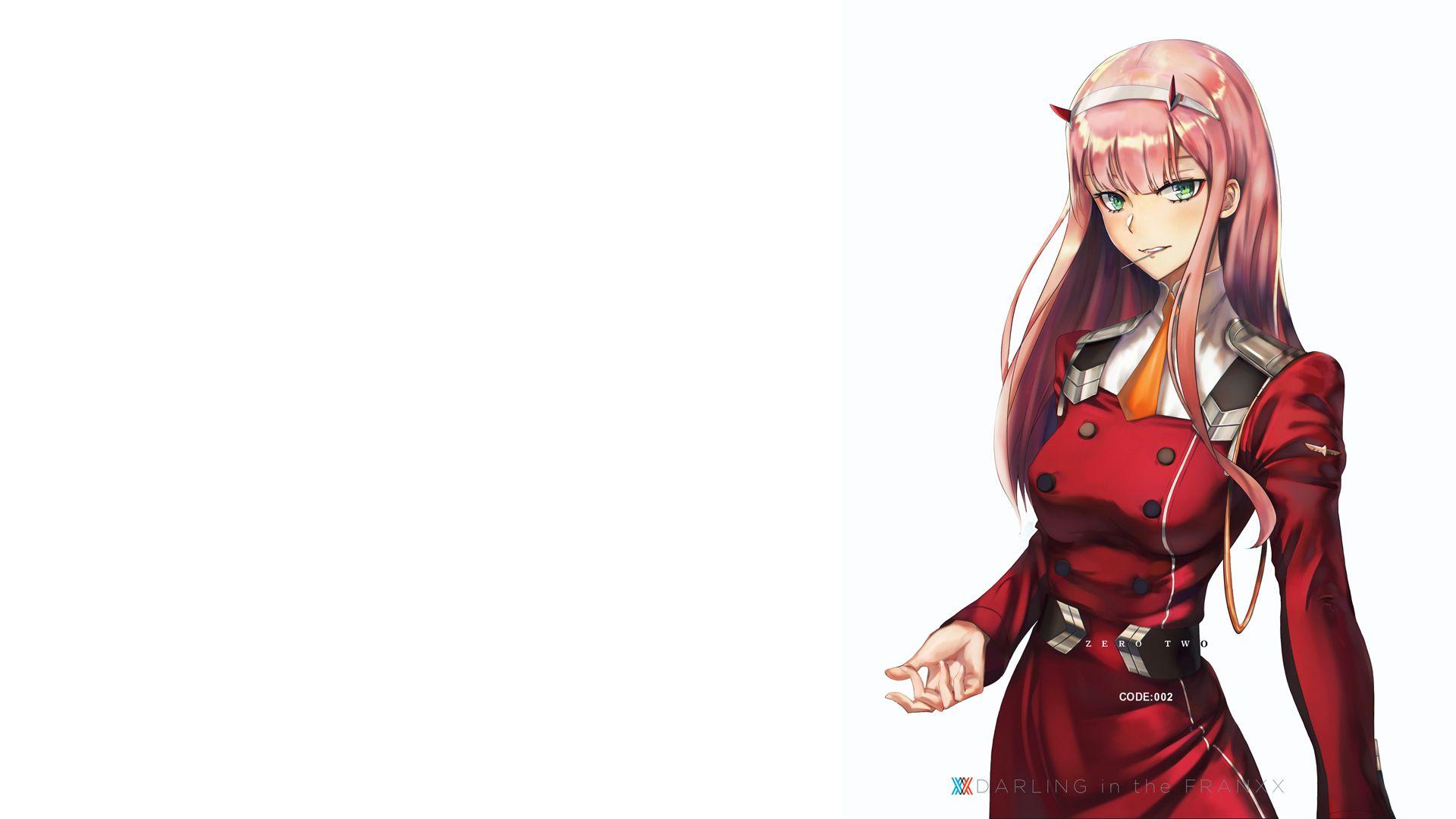 Anime Zero Two Darling In The Franxx