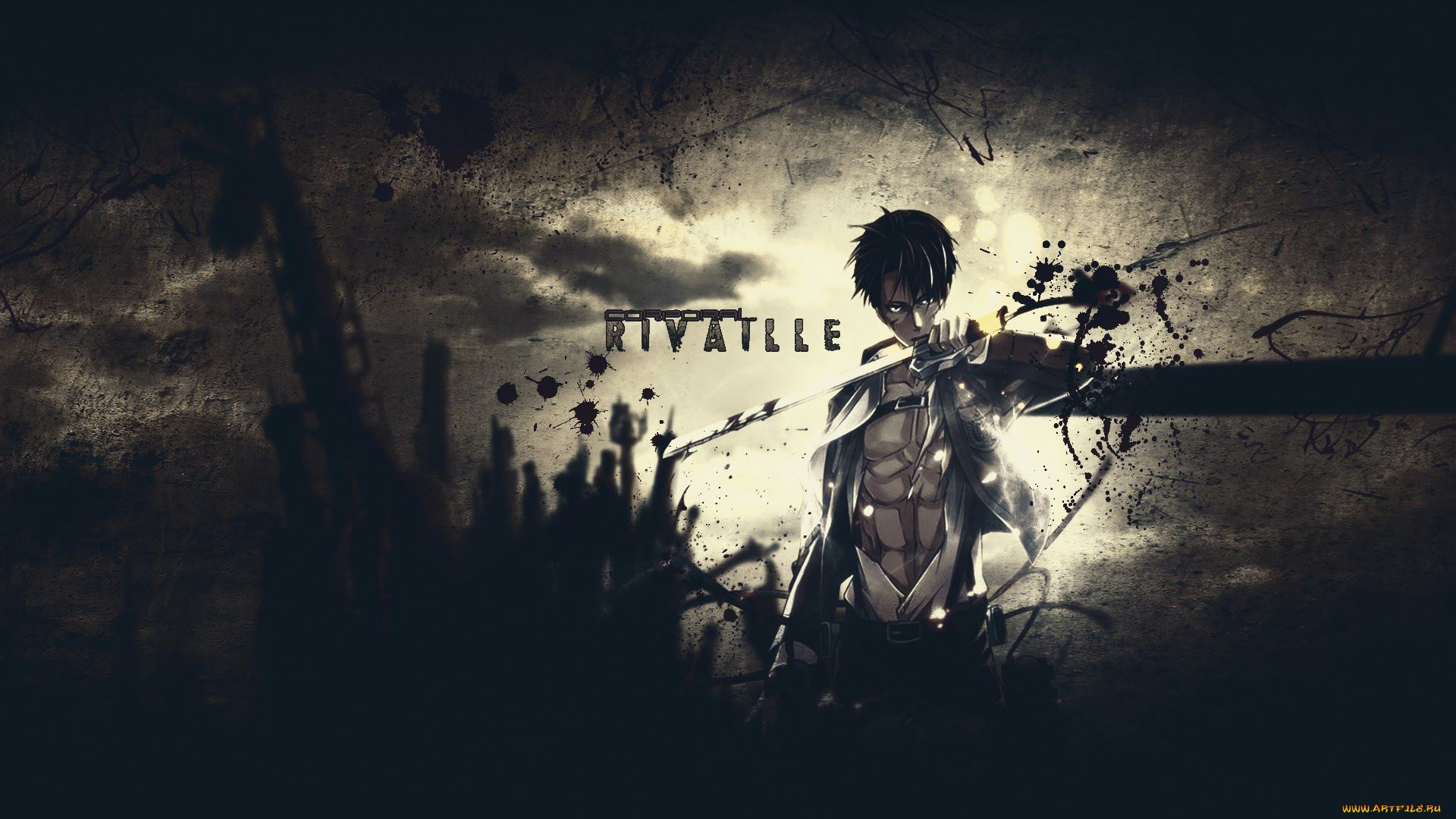 Arts Anime Desktop Attack On Titan