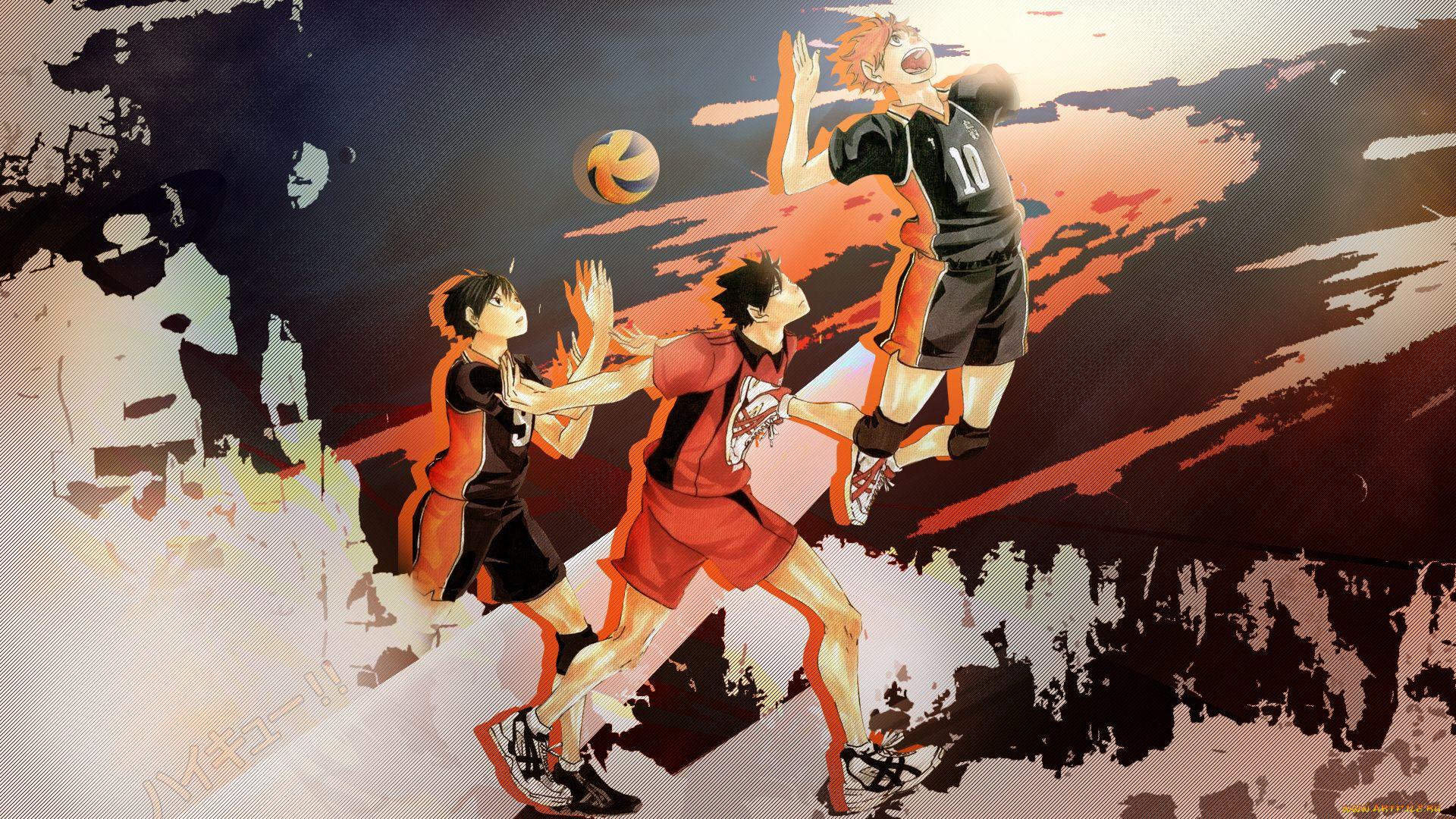 Arts On Anime Volleyball Haikyuu!!
