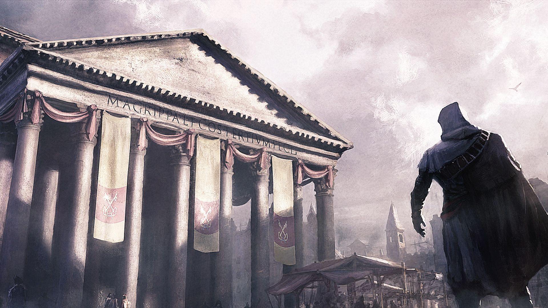 Assassin Creed Brotherhood Art