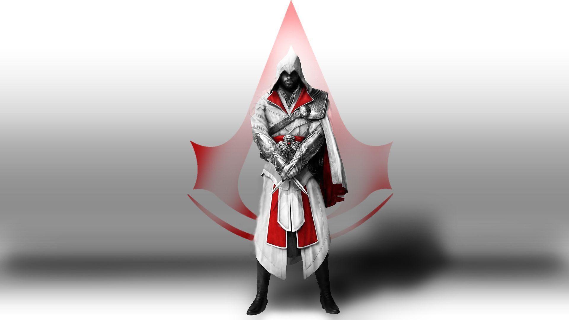 Assassins Creed Wallpaper White