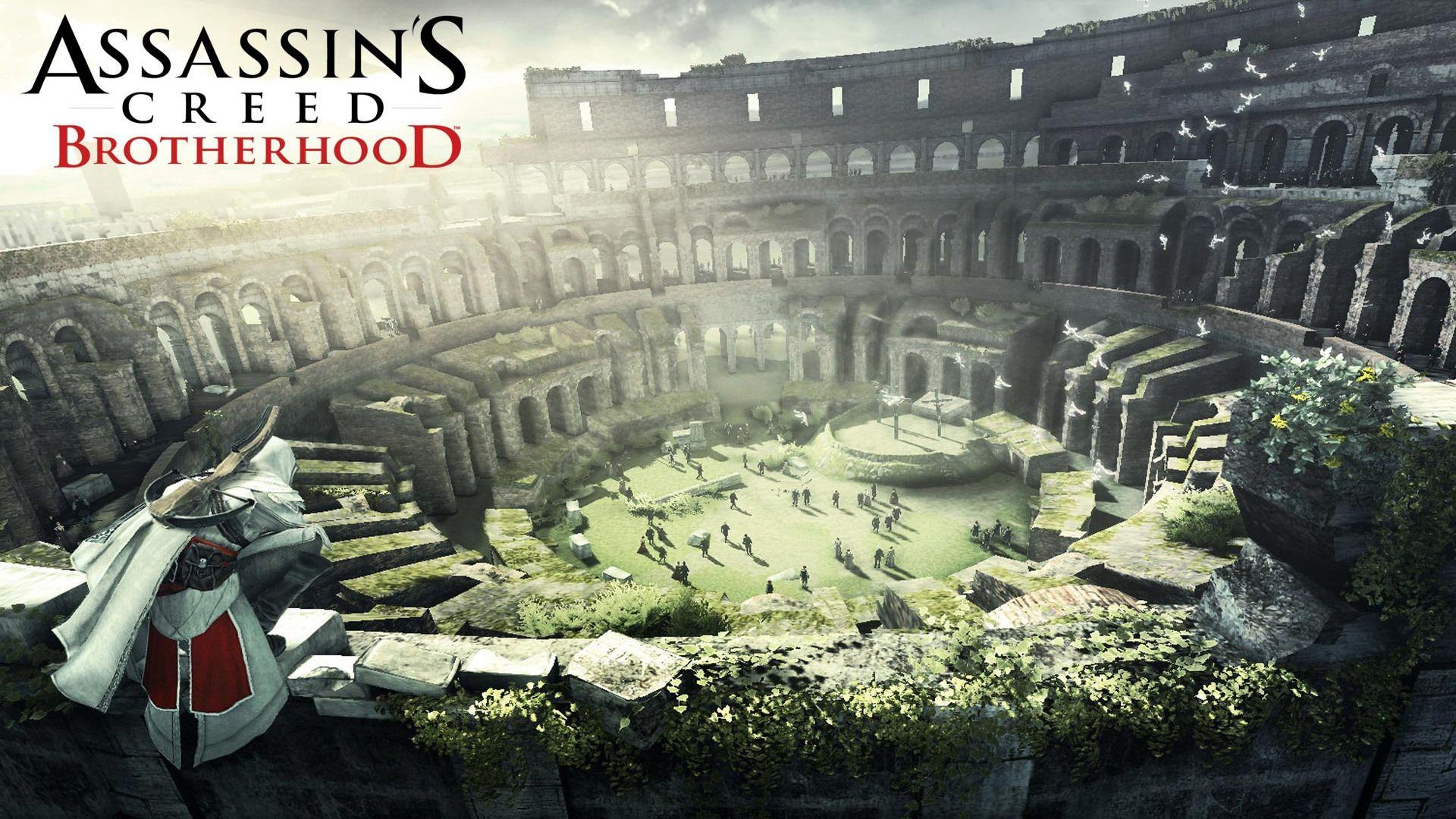 Assassins Creed Brotherhood Ruins