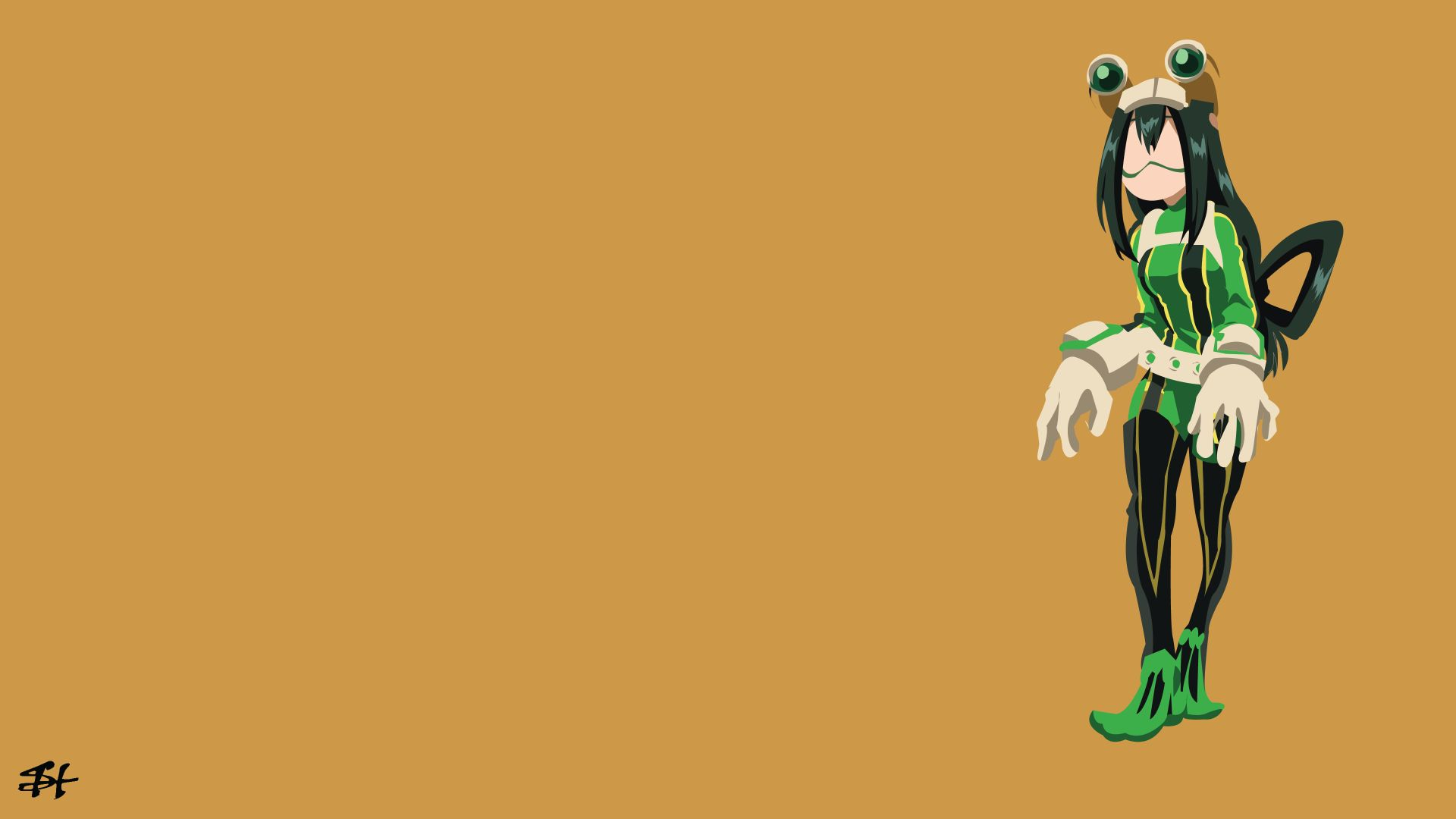 Asui Tsuyu In A Suit