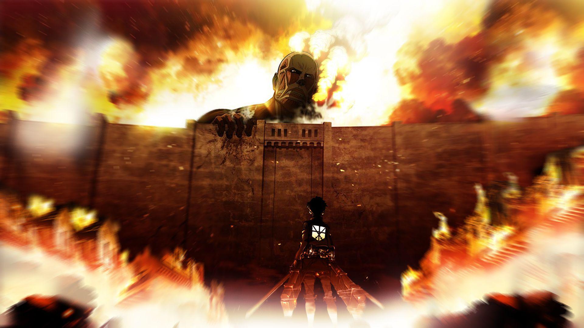 Attack Of The Titans Screensaver