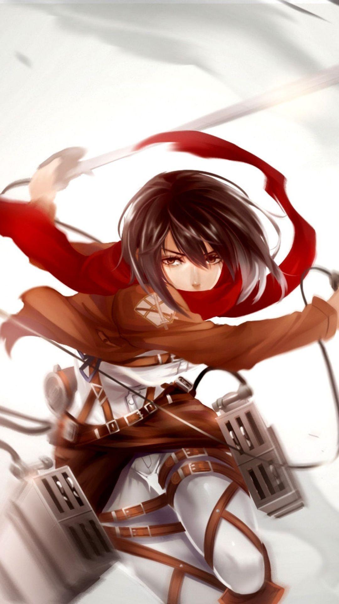 Attack On Titan Mikasa Wallpaper
