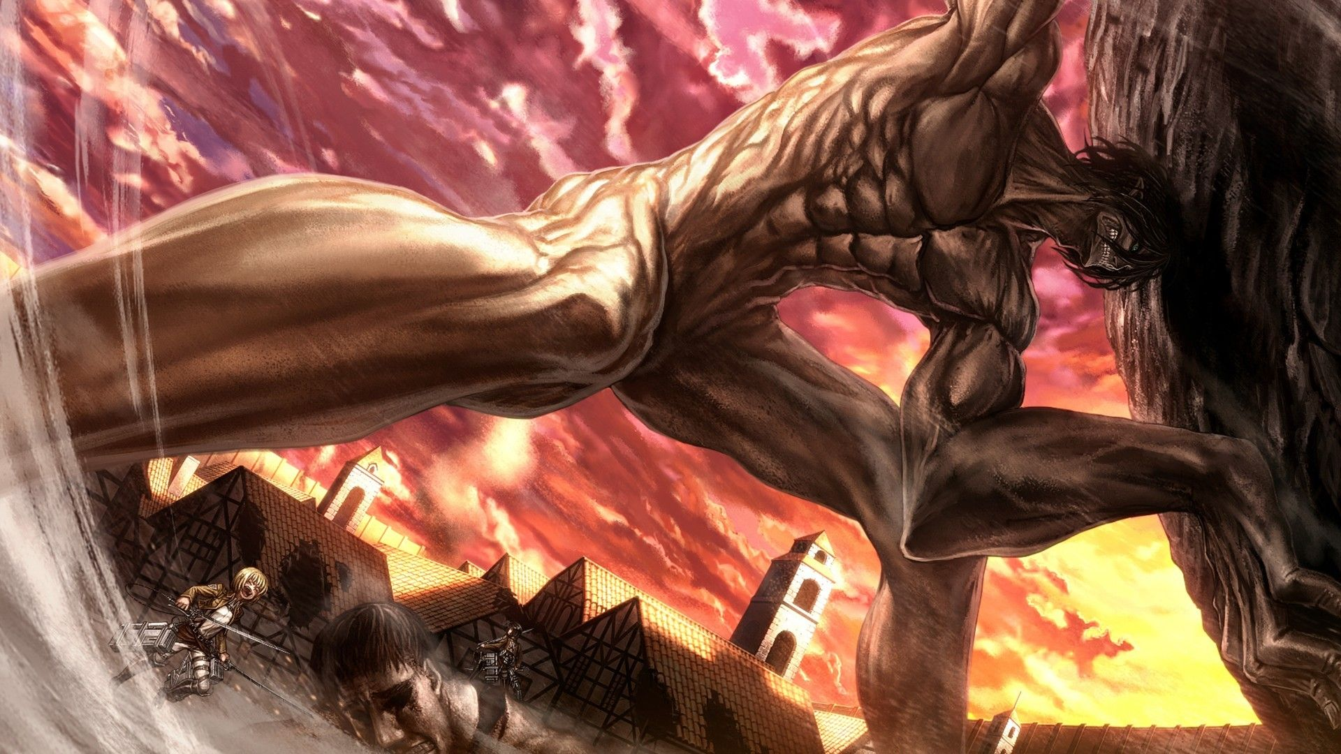 Attack On Titan Attacking Titan