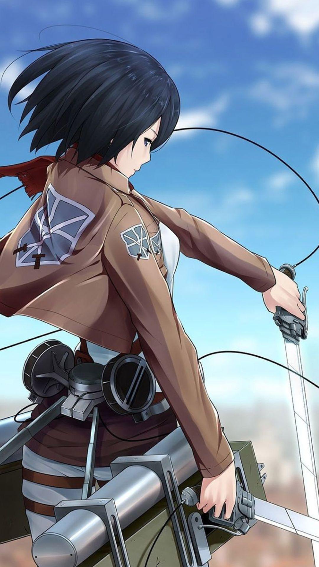 Attack On Titan Characters Mikasa