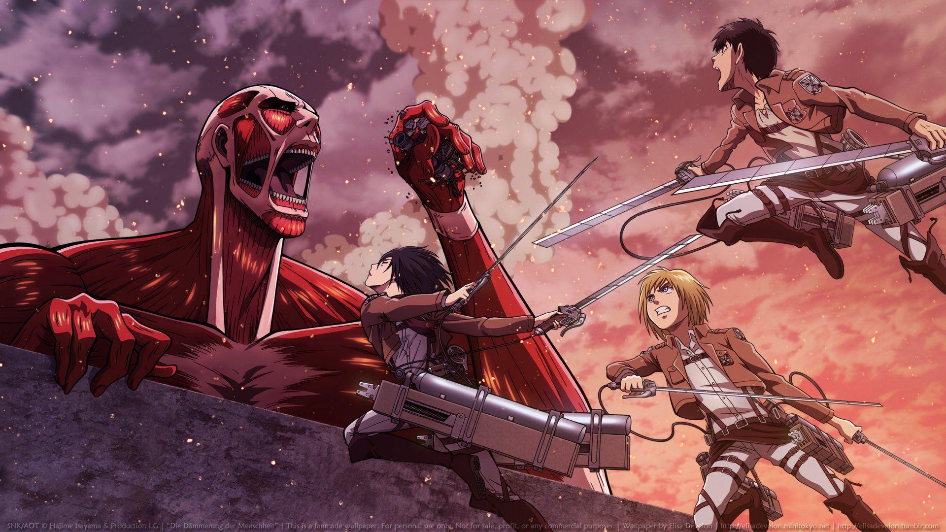 Attack On Titan Horizon