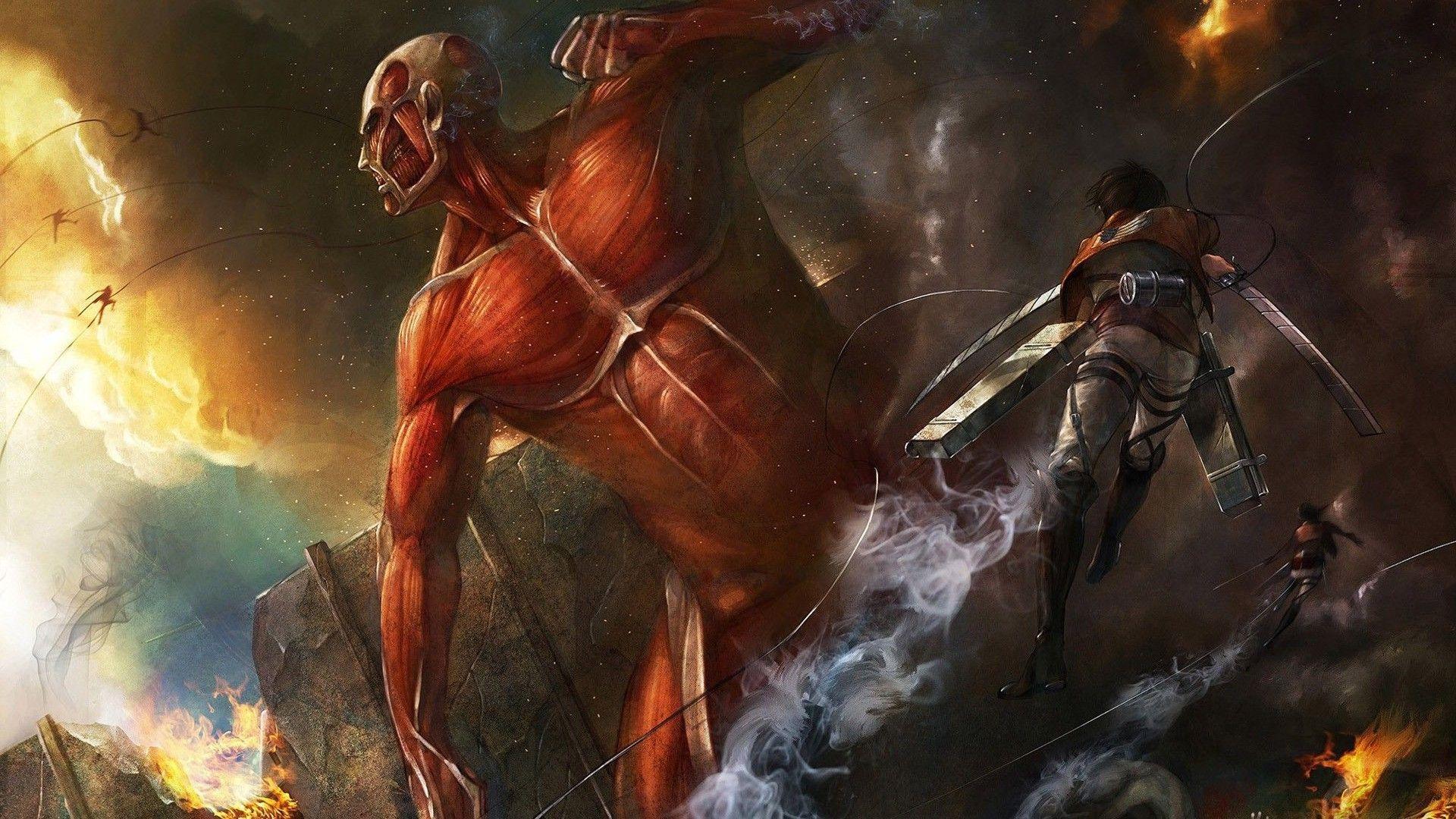 Attack On Titan Titans