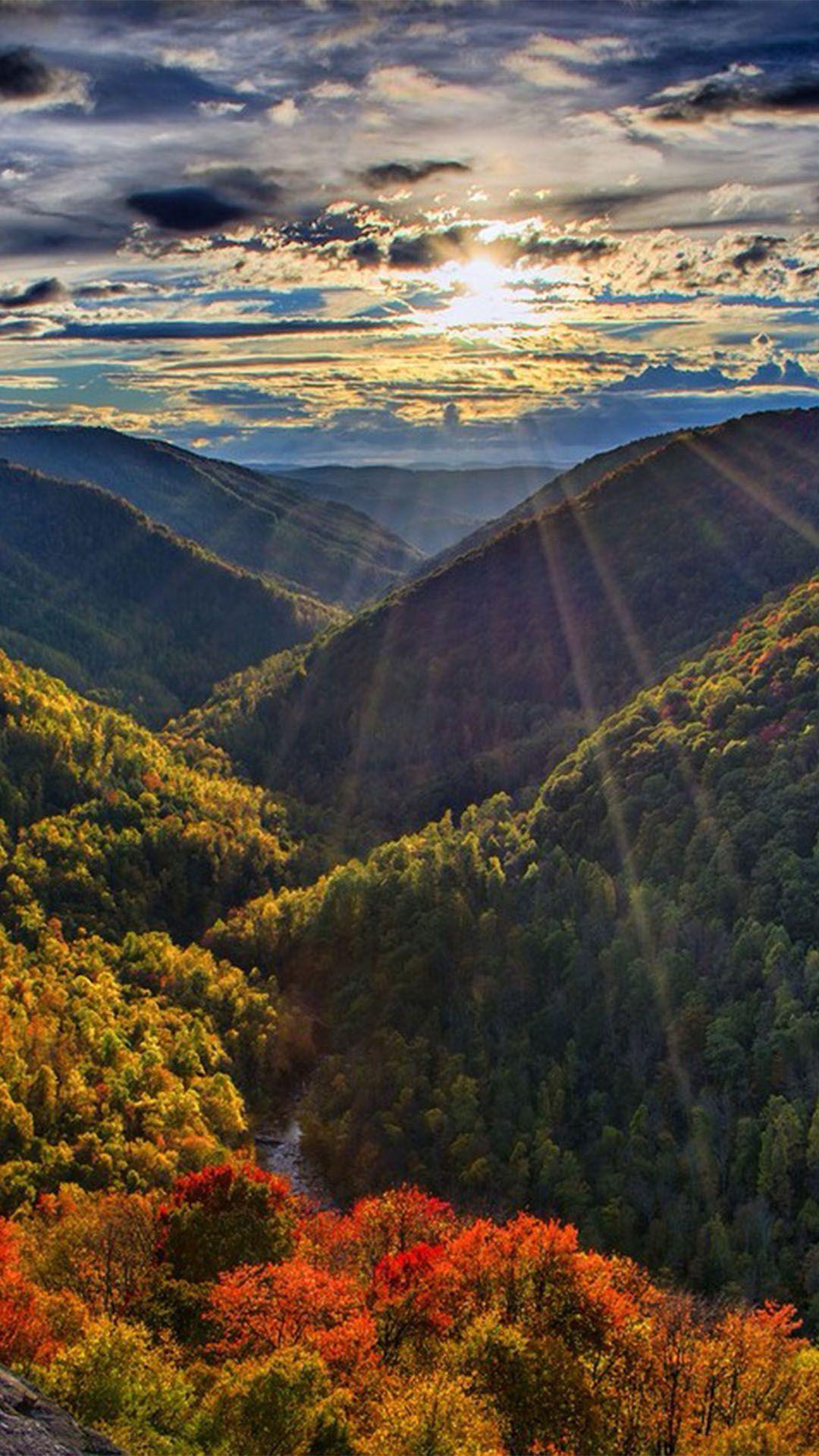 Autumn Sunshine Mountain