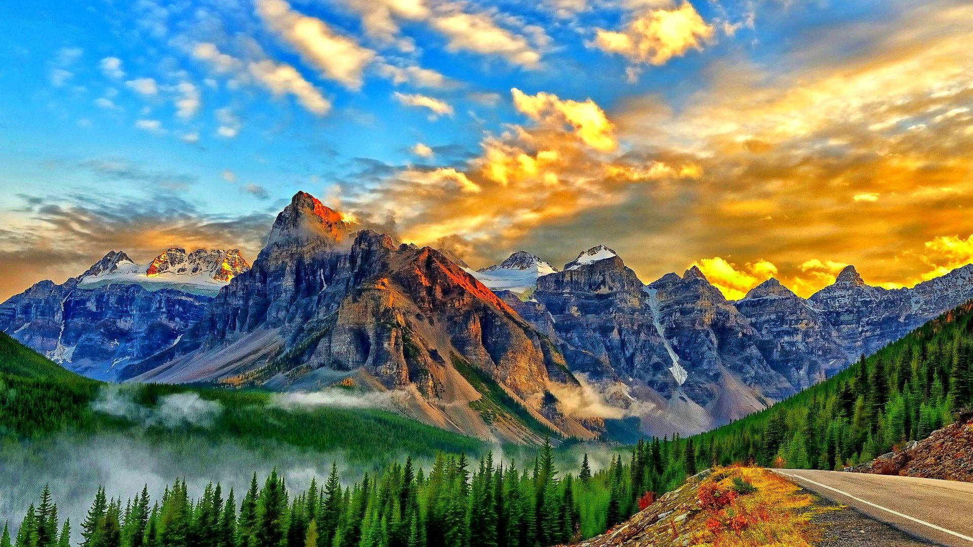 Background Mountains