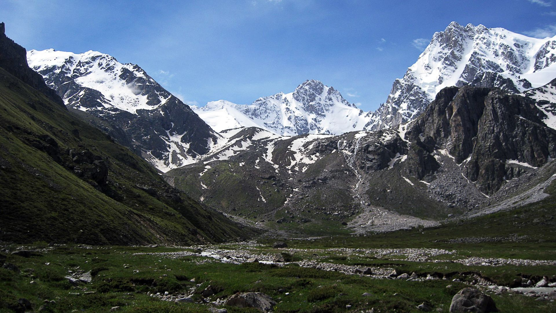 Background Of The Caucasus Mountains