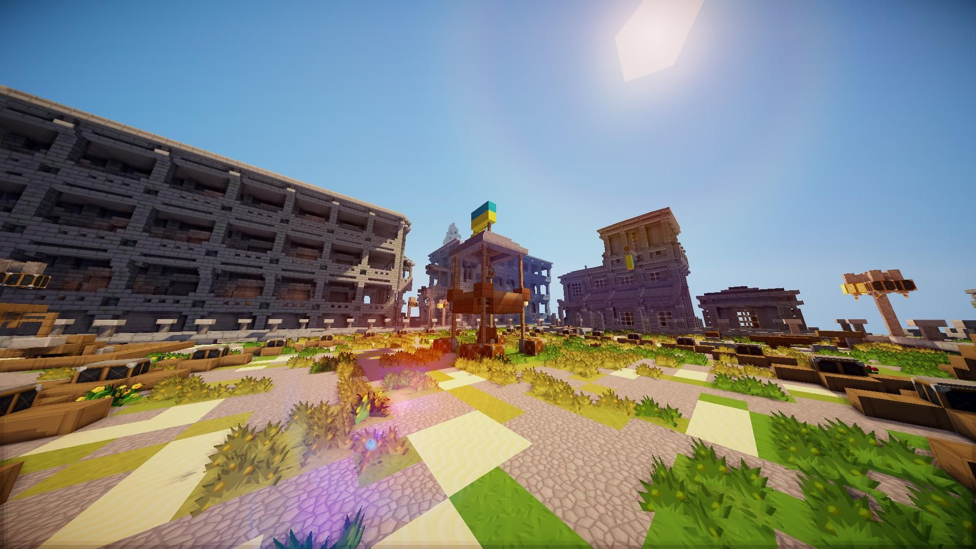 Backgrounds Minecraft Shaders