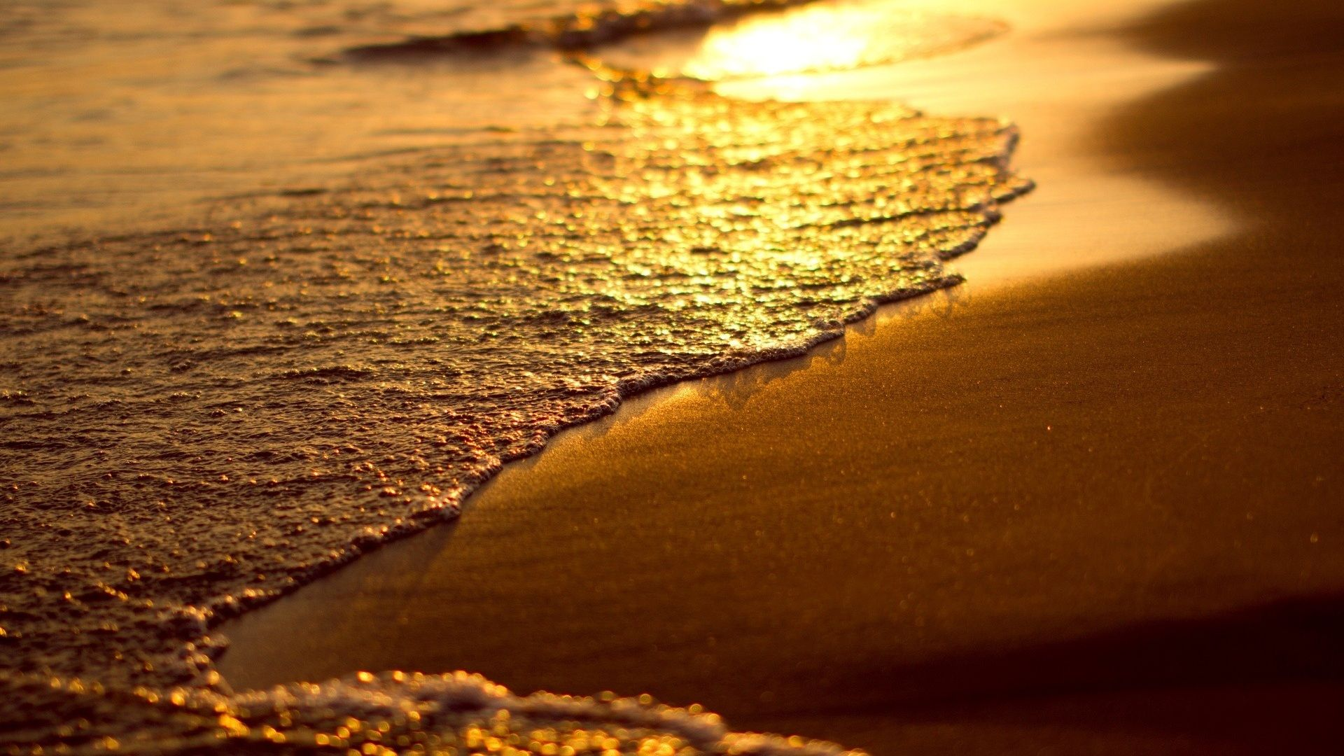 Beach Sunset Sand