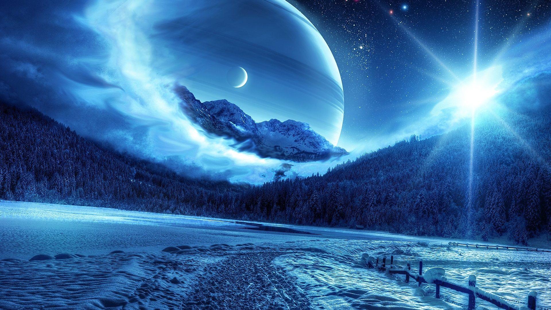 Beautiful Cosmic Landscapes