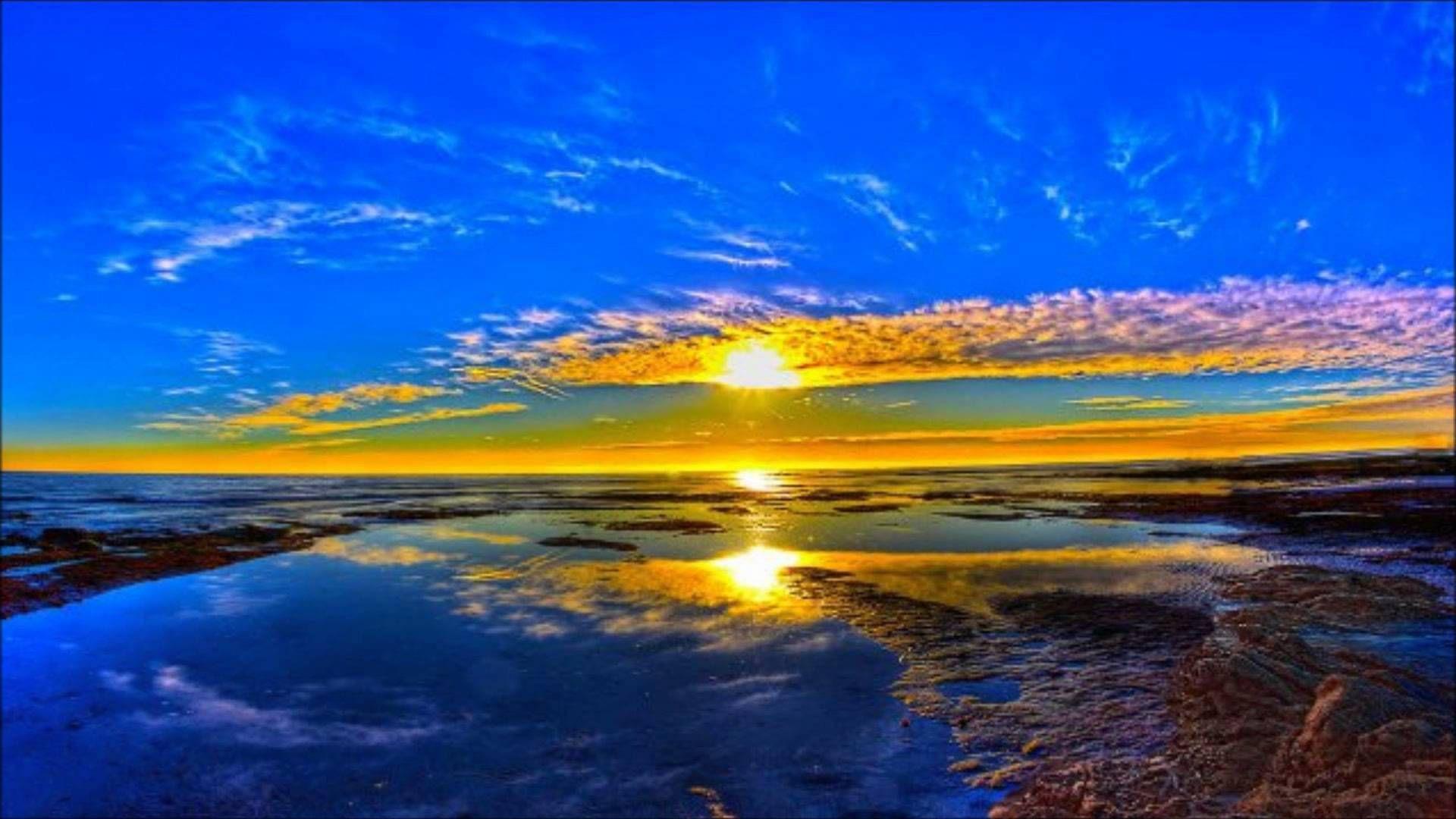 Beautiful Landscape Sunset