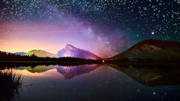 Beautiful Night Sky Photo