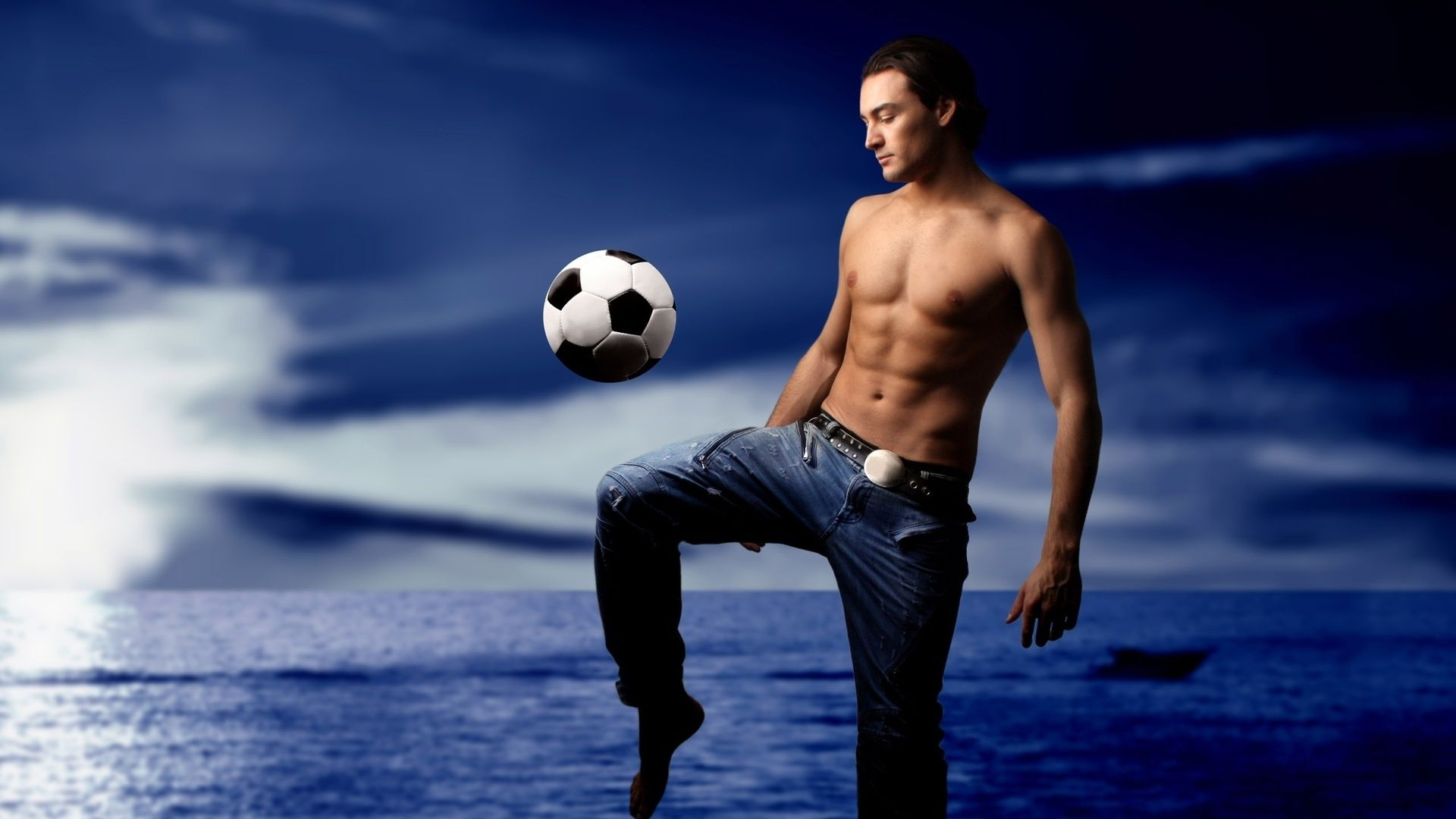 Beautiful Photos Of Players With The Ball