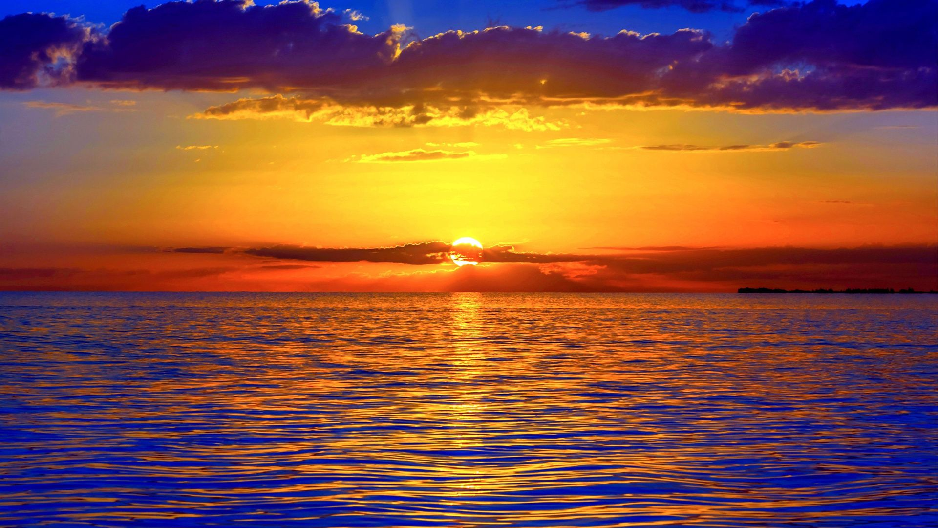 Beautiful Pictures Of The Sunset On The Sea