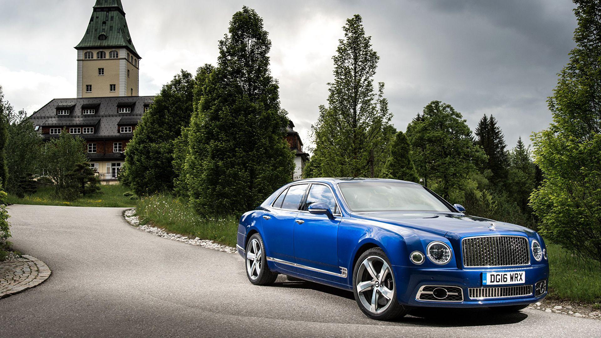 Bentley Mulsanne Blue