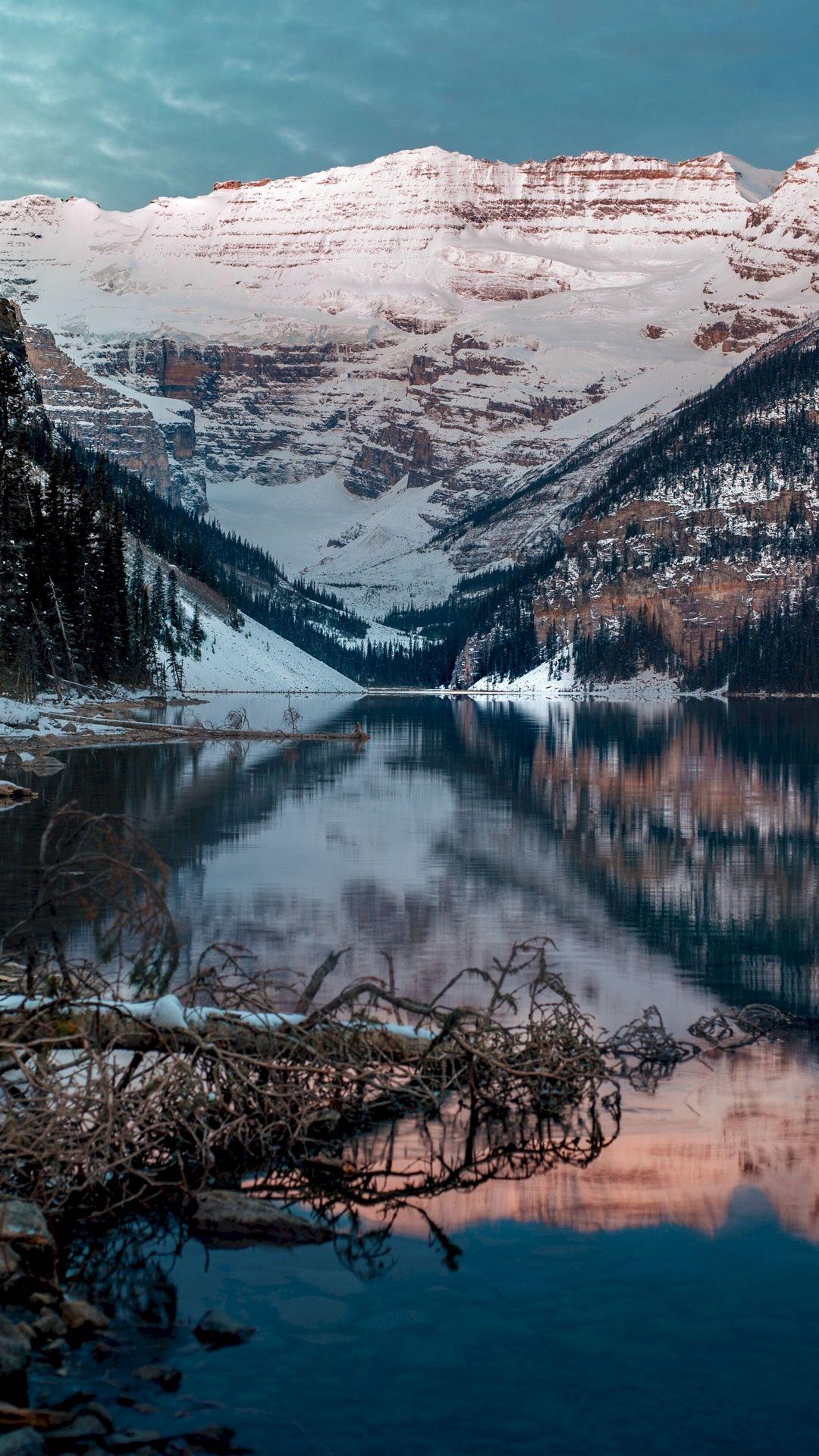 Big Almaty Lake In The Winter