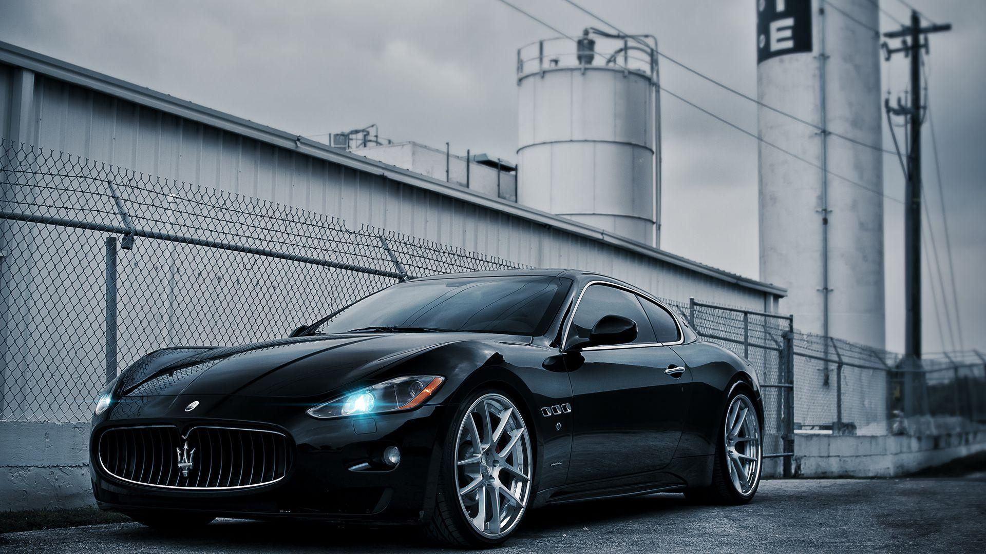 Black Maserati Photos