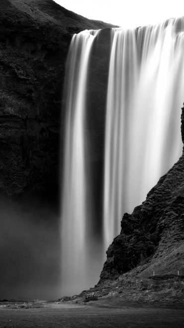 Black And White Pictures Of Nature Waterfalls