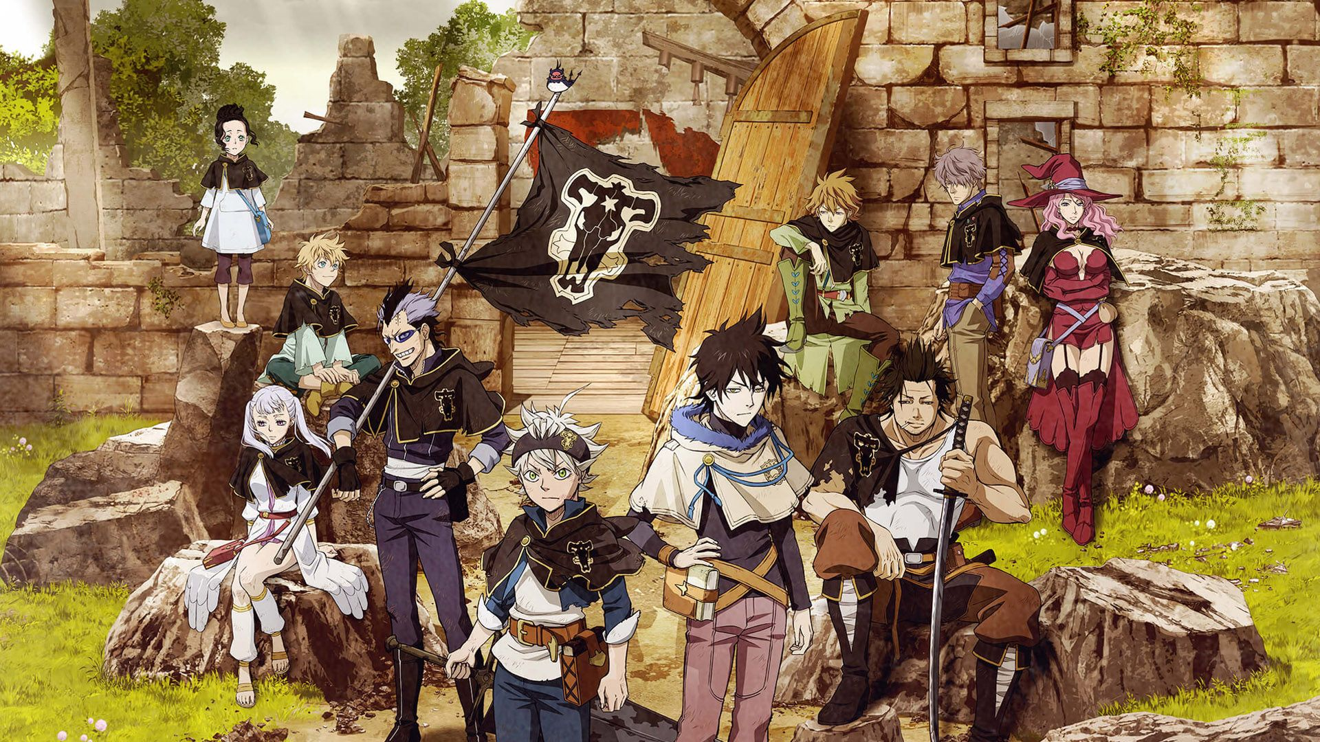 Black Clover Anime Season 1