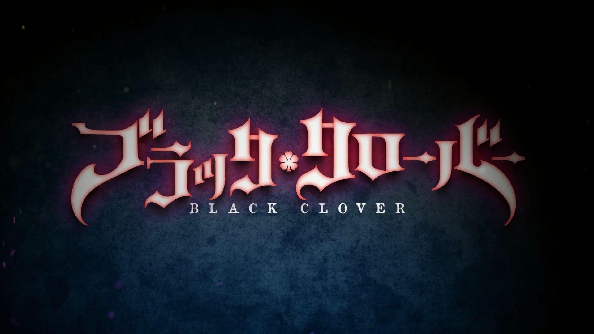 Black Clover Screen Saver