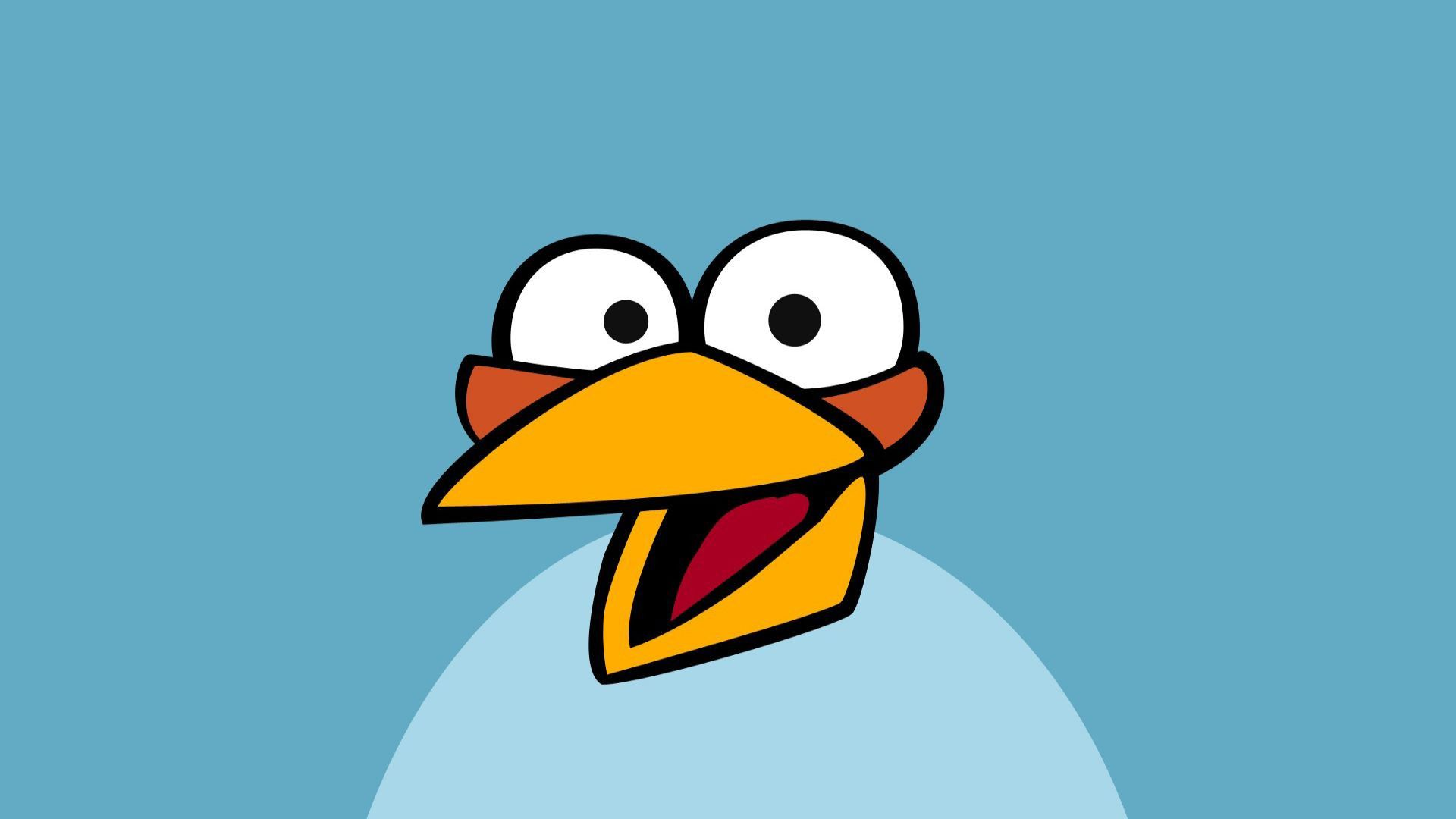 Blue Birds From Angry Birds